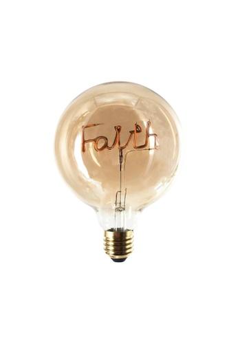 Klosh KLOSH Zogi Mula LED Word Bulb - Faith (Bulb only) E3CAEES4960E93GS_1