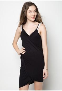 Sandra Wraparound Cover-up Dress