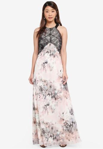 Little Mistress multi Printed Maxi Dress 5CC1BAADB2C570GS_1