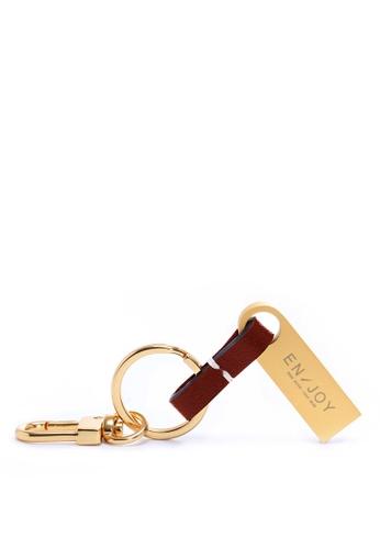 Enjoybag red Zita's Micro USB Keyring EN763AC71PLGHK_1