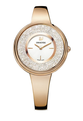 Swarovski gold Crystalline Pure Watch F7658ACABA44F4GS_1