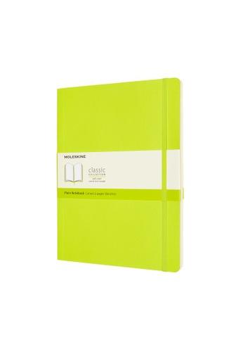 Moleskine green Classic Notebooks Plain Soft Green Xl 0D58DHL2F8AEB9GS_1