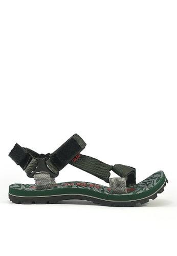 CBR SIX green CBR SIX SANDAL GUNUNG PRIA [MDC 014] - Hijau Kom 71E52SH7F00E89GS_1