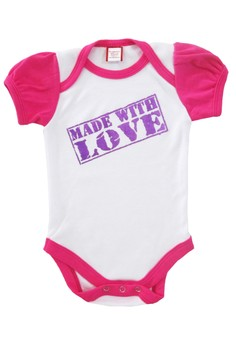 Made with Love Onesie for Girls