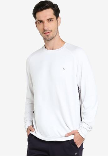 Calvin Klein white Play Pullover - Calvin Klein Performance 1AD59AA96E5A36GS_1