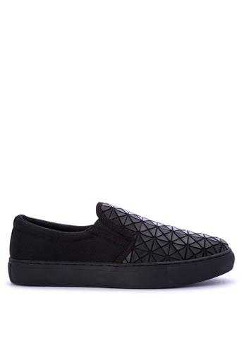 Appetite Shoes black Slip On Sneakers 15956SH68C5F66GS_1