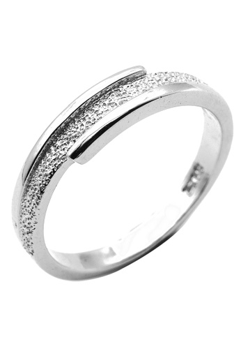 Elfi silver Elfi 925 Genuine Silver Engagement Ring T29 - The Emphasis EL186AC44NGPMY_1