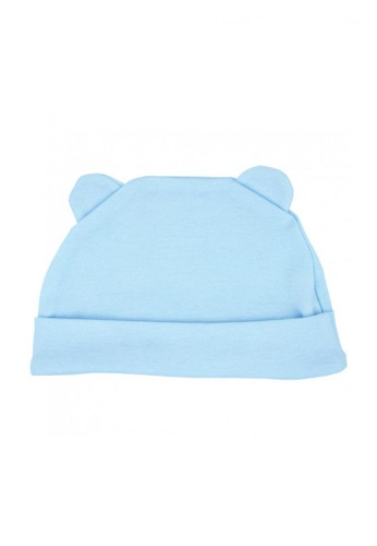 TRENDYVALLEY blue TRENDYVALLEY Organic Cotton Baby Hat (BLUE) 52C2AKC3617D9CGS_1