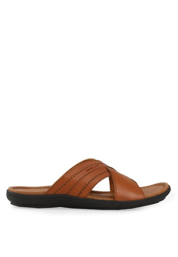 Homyped brown Santiago Men Sandals HO842SH63CPSID_1