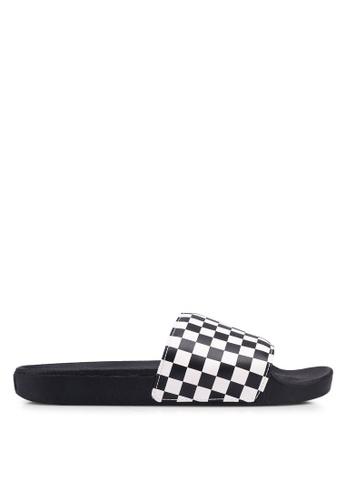 VANS black Slide-On Checkerboard VA142SH0SX3NMY_1