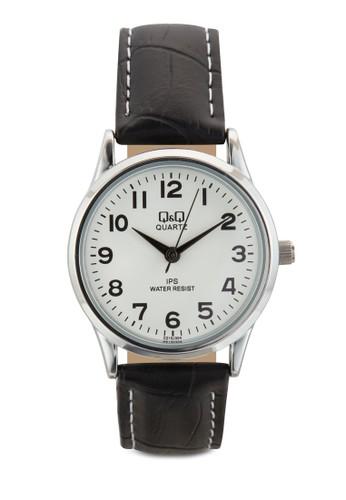 C2esprit台灣網頁15J304Y 數字仿皮手錶, 錶類, 飾品配件