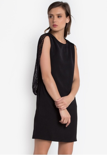 Verve Street black Daisey Dress VE915AA0K9J6PH_1