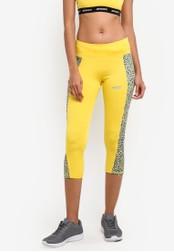 2GO yellow Tight Fit Running Capri 2G729AA0S5V9MY_1