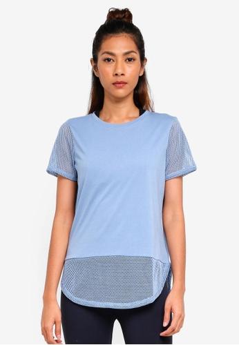 Cotton On Body blue Game Set Mesh T-Shirt 5402BAAE2D0B42GS_1