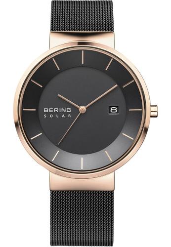 Bering gold Bering Solar Black 39 mm Men's Watch (14639-166) 8C04EAC4F2BF35GS_1