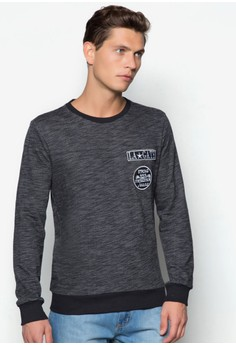 Sweatshirt with Badges