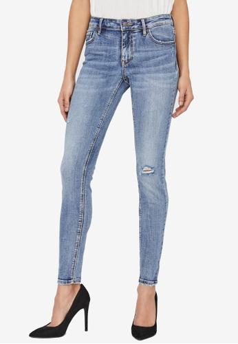 Vero Moda blue Lydia Skinny Jeans 5073CAA6B3F2B0GS_1