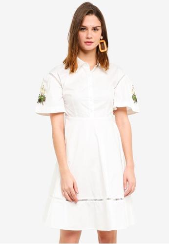 Haute Kelly white Seo-Yun Dress 68C88AA5051620GS_1