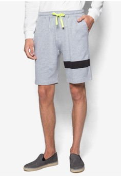 Shorts With Contrast Drawstring