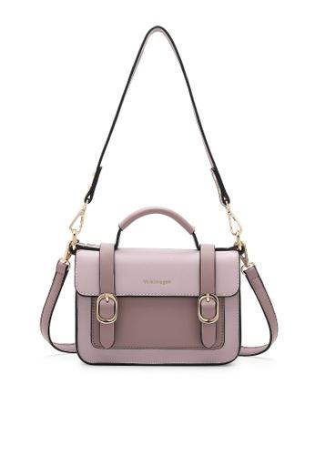 Volkswagen purple Women's Hand Bag / Top Handle Bag E57E9AC6C7D471GS_1