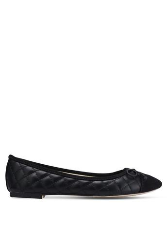 ZALORA black Quilted Ballerinas 0E223SH6F2F4F6GS_1