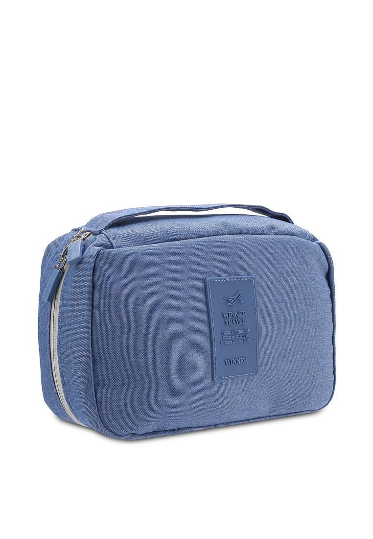 0dd6b66544ca ... Black Travel Blue Pouch Resistant Bagstationz Toiletries Lightweight  Friday Water 0vawaqp ...