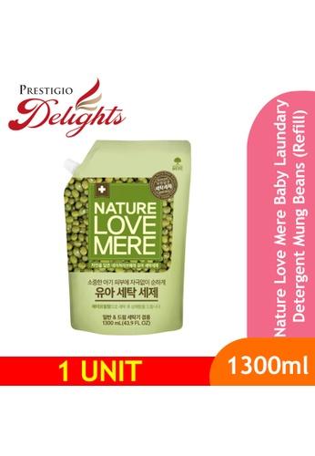 Prestigio Delights black Nature Love Mere Baby Laundary Detergent Mung Beans (Refill) 1300ml 5B36EESB550956GS_1