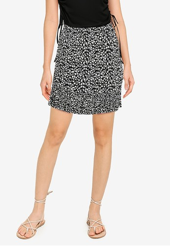 KOTON black Casual Skirt 2F319AA2555623GS_1
