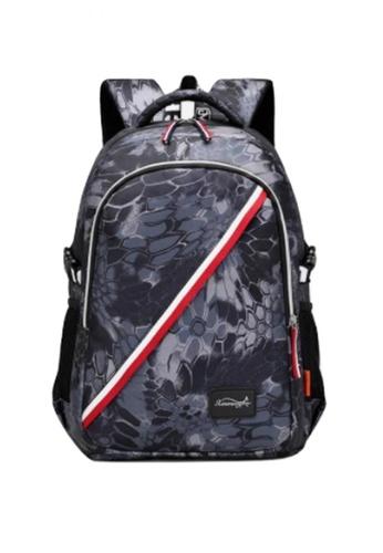 Lucky JX blue High Grade Zion Travel Fashion Backpack E22E9ACE62523BGS_1