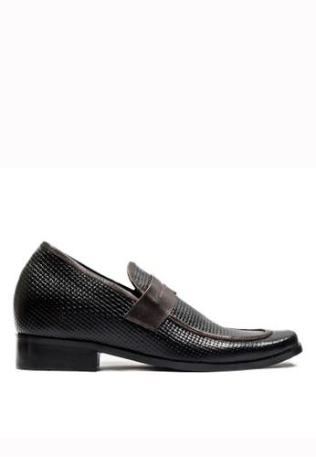 Keeve black Keeve Shoes Peninggi Badan Formal 149- Hitam E8CB9SHF646D64GS_1