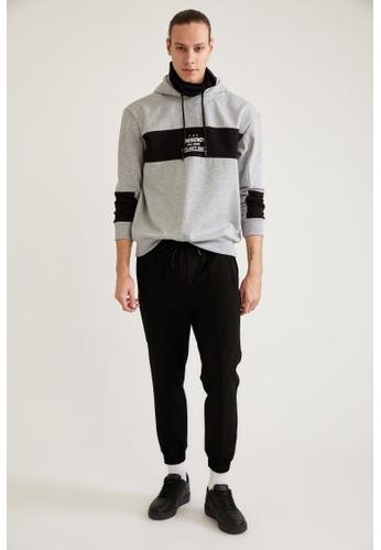 DeFacto black Slim Trousers 8FEC5AA4FCBD4DGS_1
