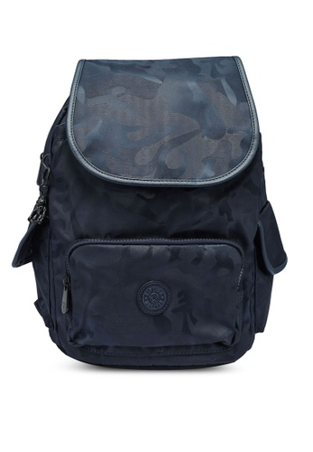 Kipling blue and navy City Pack S Backpack 783BDAC9CCA46FGS_1