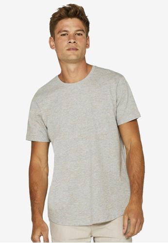 ESPRIT 灰色 混色Jersey T-襯衫 B75B7AA0F25E27GS_1