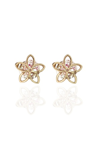 Memento Collection white Simple Star Detailed Earrings ME060AC81VHAMY_1