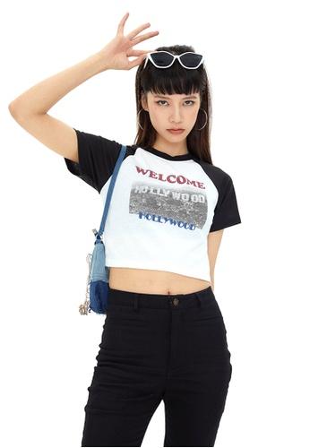 Twenty Eight Shoes Slim Printed Short Sleeve T-shirt HH0011 7903BAA7DA73DEGS_1