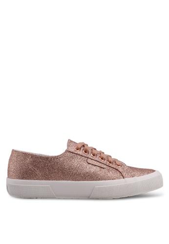 Superga pink Microglitter Sneakers 7B914SH84E8C1AGS_1