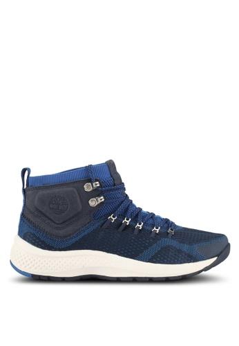 Timberland blue Flyroam Trail Mid Fabric Sneakers F838ESHEFA7FC7GS_1