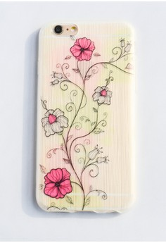 Flower Garden Soft Transparent Case for iPhone 6/6s