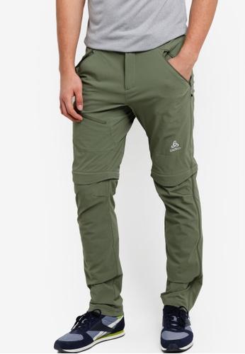 Odlo green Zip-Off Engage Pants OD608AA24KATMY_1