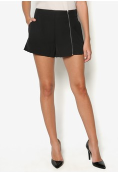 Collection Zip Up Shorts