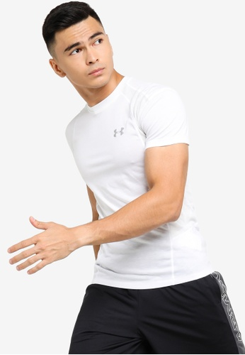 Under Armour white Threadborne Swyft T-Shirt UN337AA0SU8IMY_1