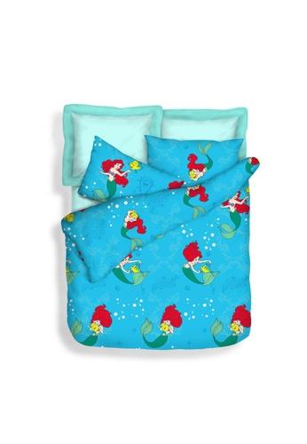 Eurotex Disney Princess ROYAL BESTIES (Ariel) Fitted Bedsheet Set. 211CBHLB3C2486GS_1
