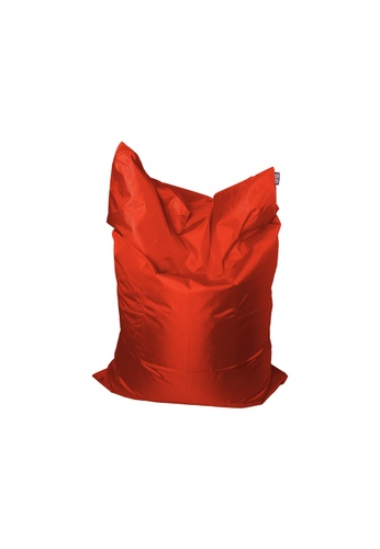 doob red PLOPSTA' - versatile spill-proof doob bean bag (Chili Red) 95787HLE256AFBGS_1