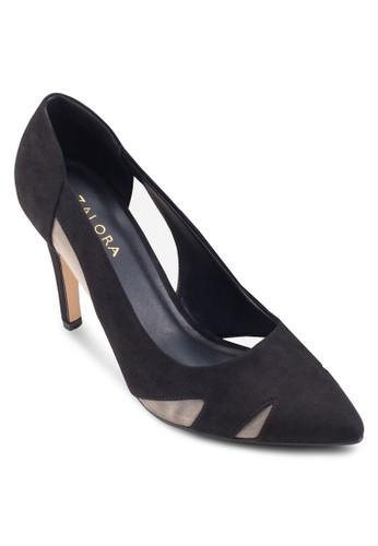 鏤空薄紗zalora是哪裡的牌子尖頭高跟鞋, 女鞋, 鞋