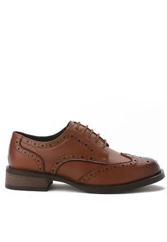 Twenty Eight Shoes brown Cow Leather Brogue 1870 BB1F6SHB4AD5F6GS_1