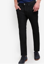threads by the produce black Slim Straight Jeans TH122AA66KAFMY_1