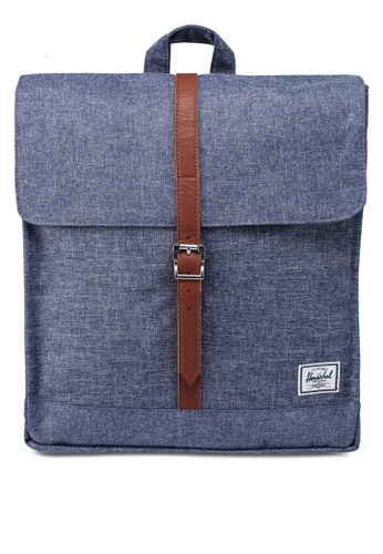 Herschel grey City Mid-Volume Backpack FC656AC88DE4E9GS_1