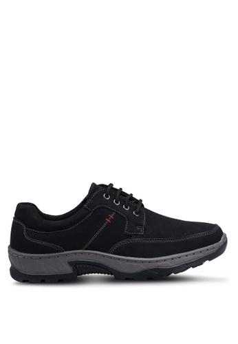 Rocklander black Lace Up Sneakers 1D21FSH9483337GS_1
