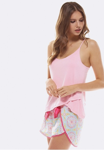 Deshabille pink Grace Cami Pink 25844AAEC26C56GS_1