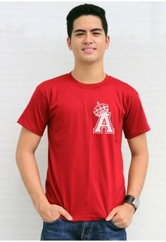 King's Initial A T-shirt